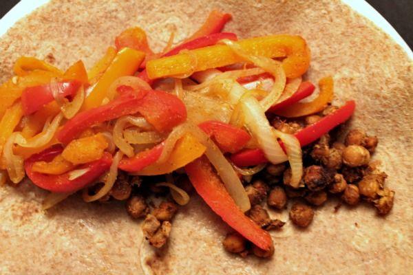 Roasted Chickpea Fajitas | Recipe