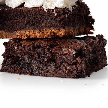 Cherries Jubilee Brownies (Using Fudgy One-Pot Brownies Recipe)