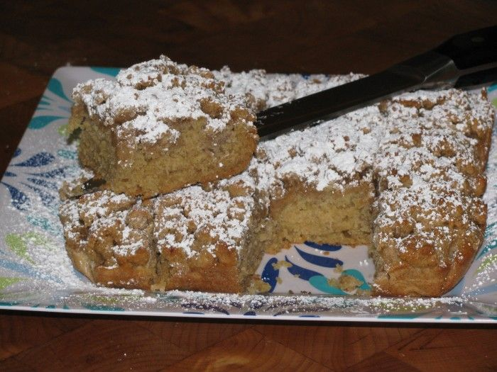 New York Style Crumb Cake ONLY 175 Calories. You CAN Eat what you Love and LOSE WEIGHT! -->tonetiki.com<--