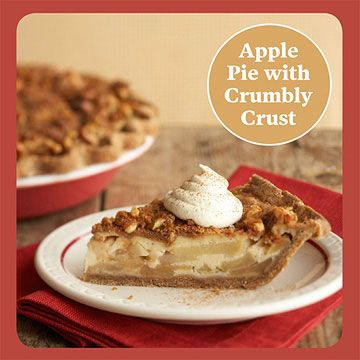 Apple Pie with Gingerbread Crust | I have an EYE for some PIE!! | Pin ...