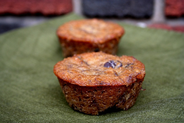 Roasted Banana Muffins | Sweets Recipes | Pinterest