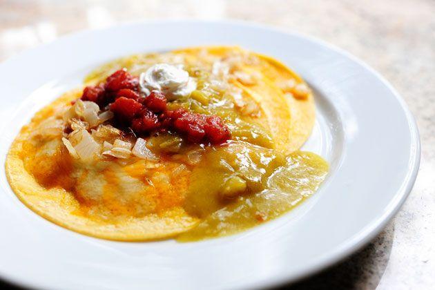 Easy Green Chile Enchiladas | Recipe