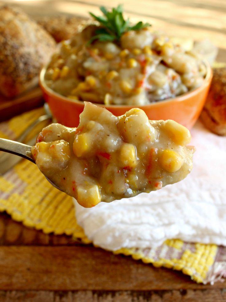 Crockpot) Red Potato Soup | Recipe