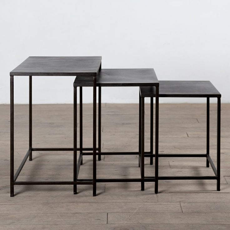 Handmade 3 piece Perry Nesting Tables India Overstock