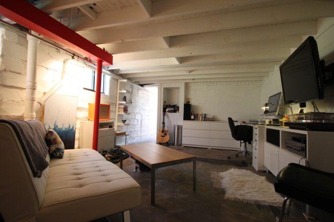 basement studio ateliers studios pinterest