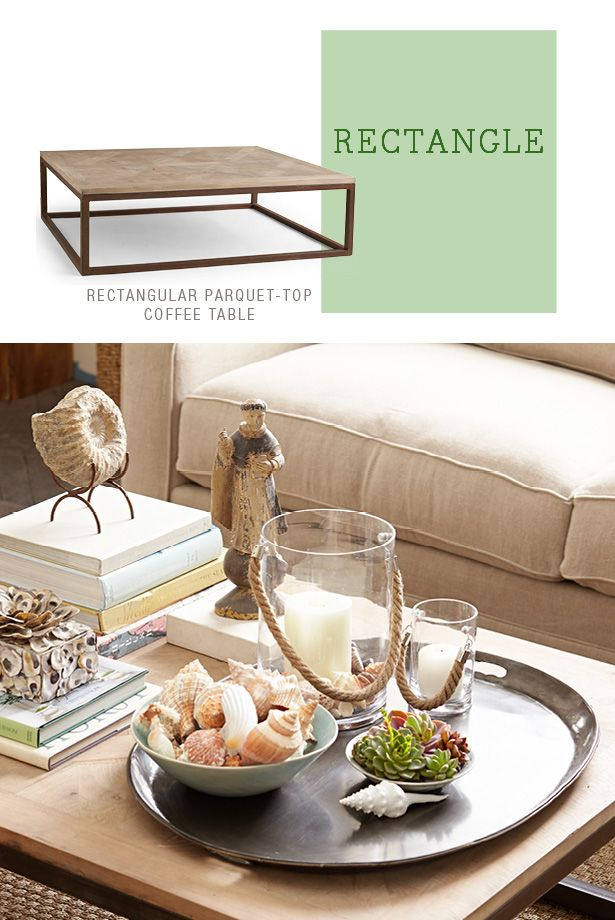 How To Style A Coffee Table Rectangle Home Styling