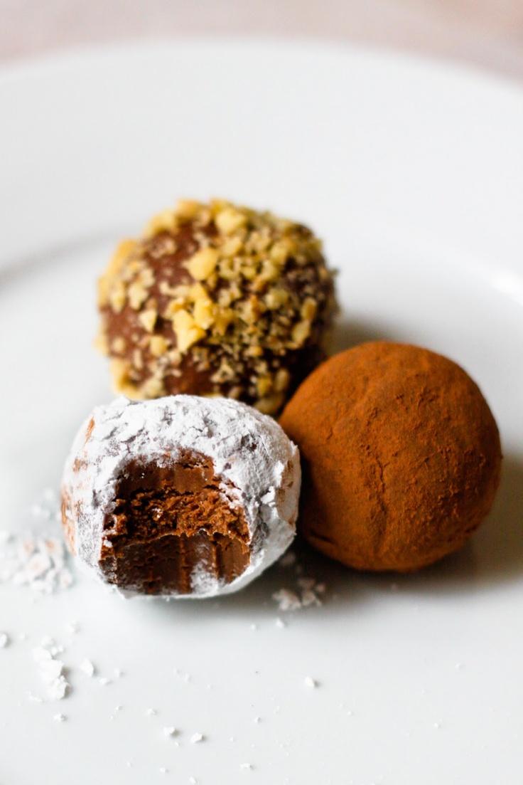 Nutella Chocolate Truffles Recipe — Dishmaps