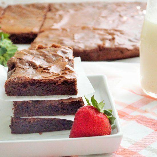Fudgy Brownies | an e-d | Pinterest