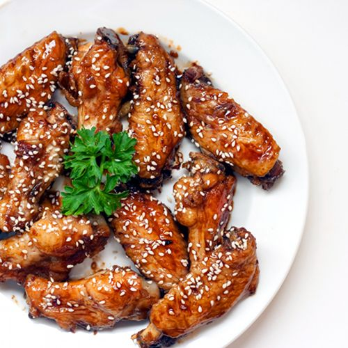 ginger orange glazed chicken wings chicken thighs with orange ginger ...