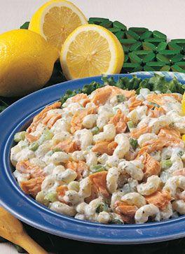 Salmon Macaroni Salad | Cooking and Baking | Pinterest