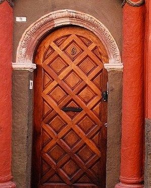 Beautiful wooden door knock on any door pinterest for Beautiful wooden doors picture collection