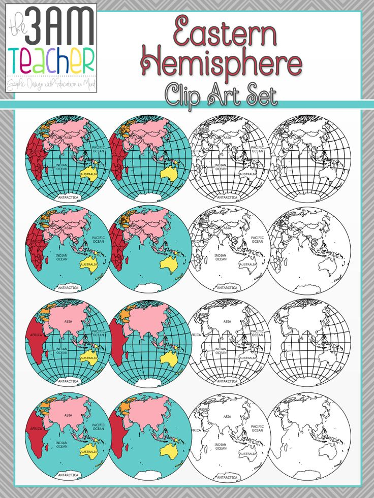 Eastern Hemisphere Globe Eastern Hemisphere Globe