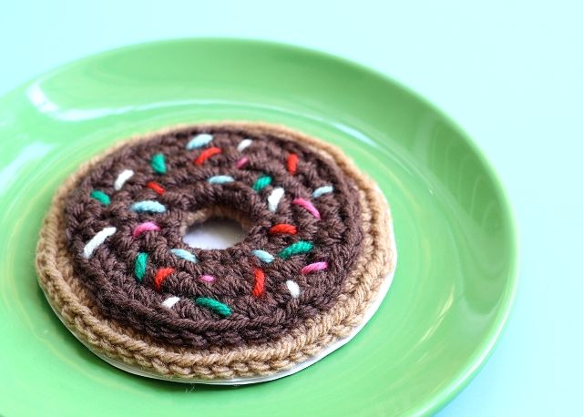 Amigurumi Person Pattern Free : Fathers Day Crochet Donut Card Tutorial Crochet - Free ...