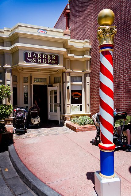 Barber Shop Orlando : Barbershop on Main Street Walt Disney World Pinterest