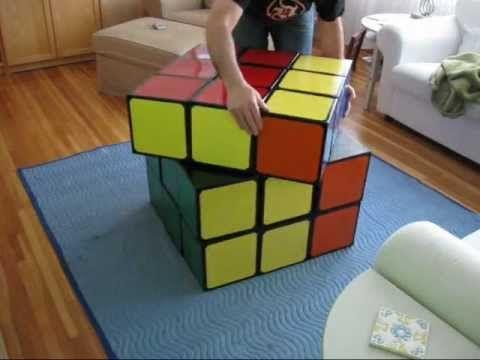 Rubiks Cube Of Unusual Size Meg Pinterest