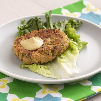 Chickpea-Brown Rice Veggie Burgers | recipes | Pinterest