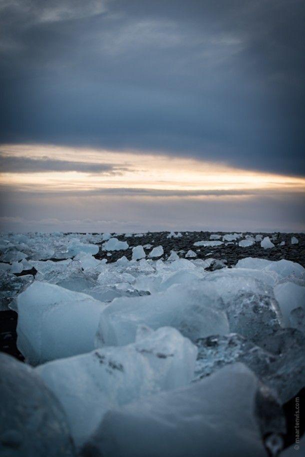Jökulsárlón, Iceland | Fishandfeathers.net | Pinterest