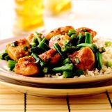 ... 20 minute meals! recipes/Szechuan Chicken with Green Beans and Basil