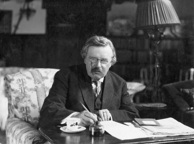 G K Chesterton, one of the great distributist thinkers