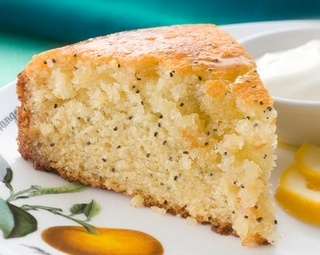 Lime, Poppy & Pineapple Syrup Cake. Haven't made this for a while but...