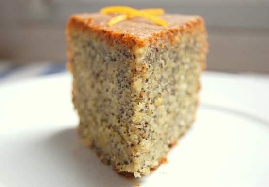 orange poppy seed cake | Cookies / Desserts | Pinterest