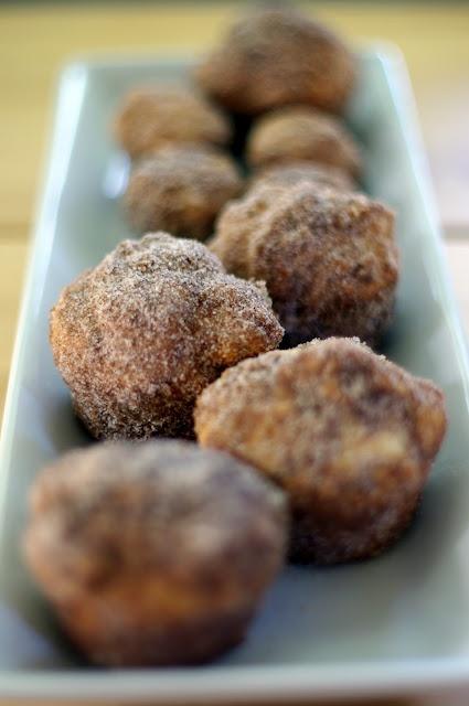 cinnamon sugar doughnut muffins | donuts | Pinterest