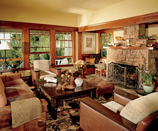 Craftsman Living Room LOVE This Style Craftsman Style