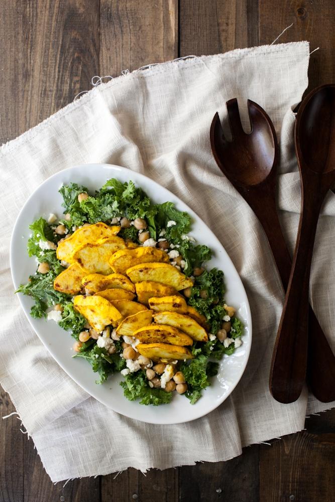 Curry Marinated Summer Squash Salad | Recipe