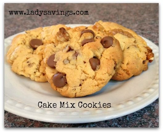 Cake Mix Cookies | Cookies & Bars | Pinterest