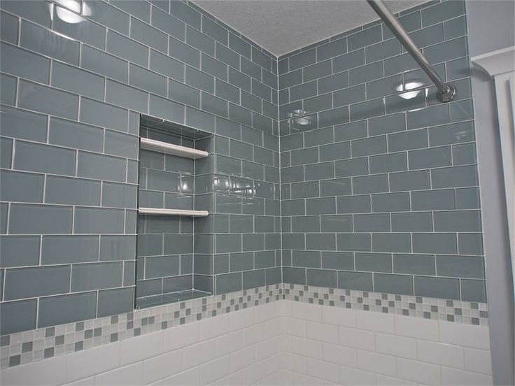 By Subway Tile Outlet On Glass And Mother Of Pearl Shower Tile