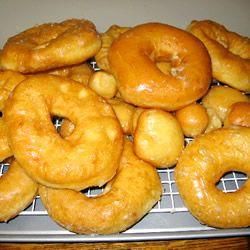 Crispy And Creamy Doughnuts Recipe — Dishmaps