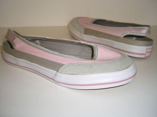 Easy Spirit Womens Shoes Pink Flats Slingbacks Size 6W
