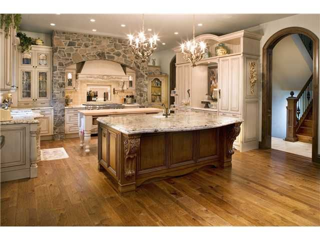 Old world kitchens beautiful rooms pinterest for Kitchen world