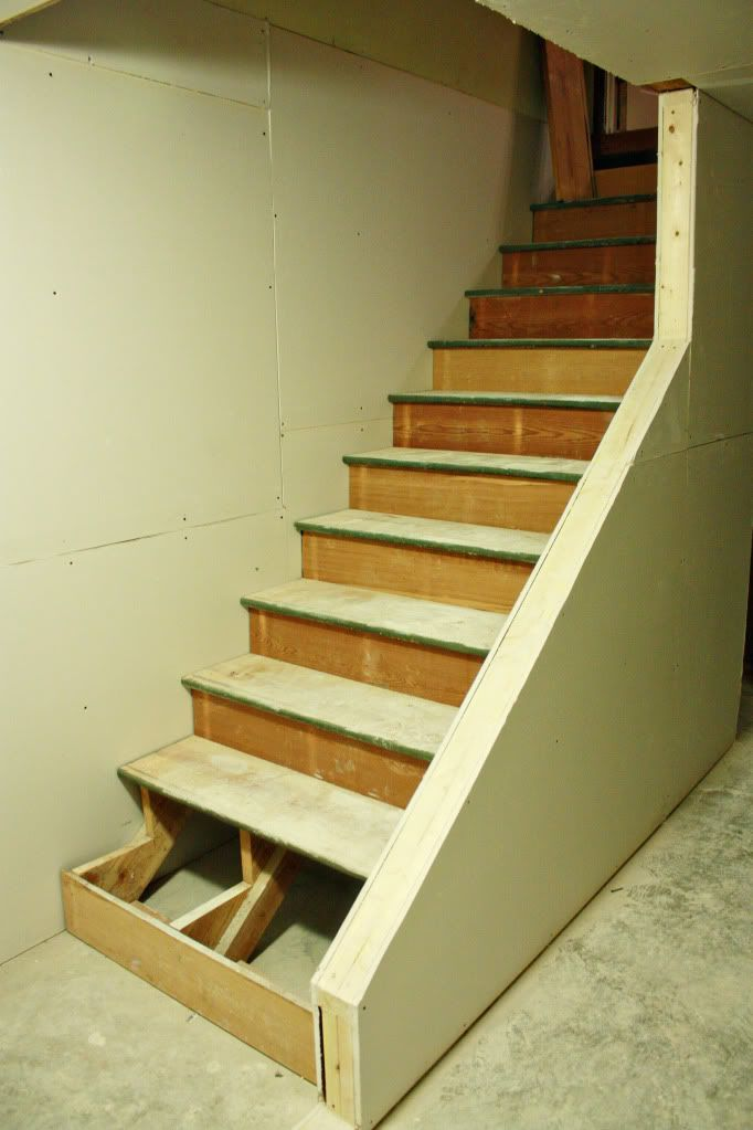 basement stair rail and baluster question carpentry diy chatroom