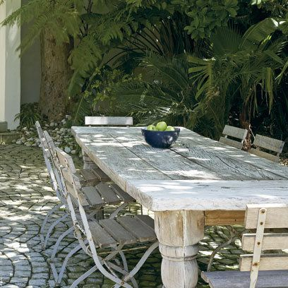 Courtyard Garden: Decorating Ideas: Interiors