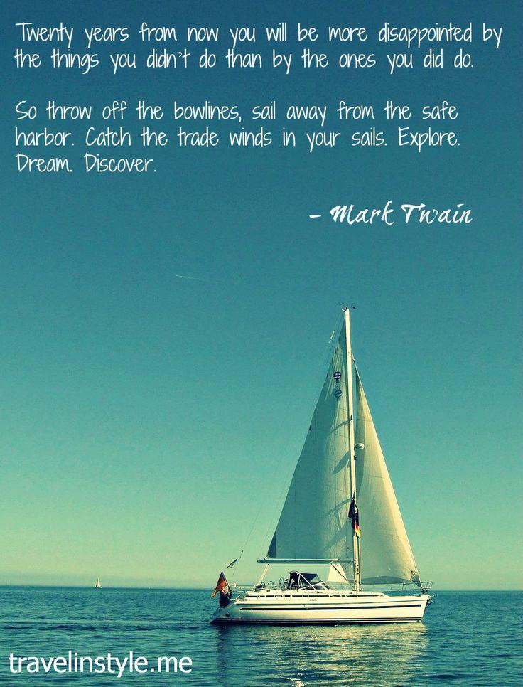 Sail Away Quotes Quotesgram