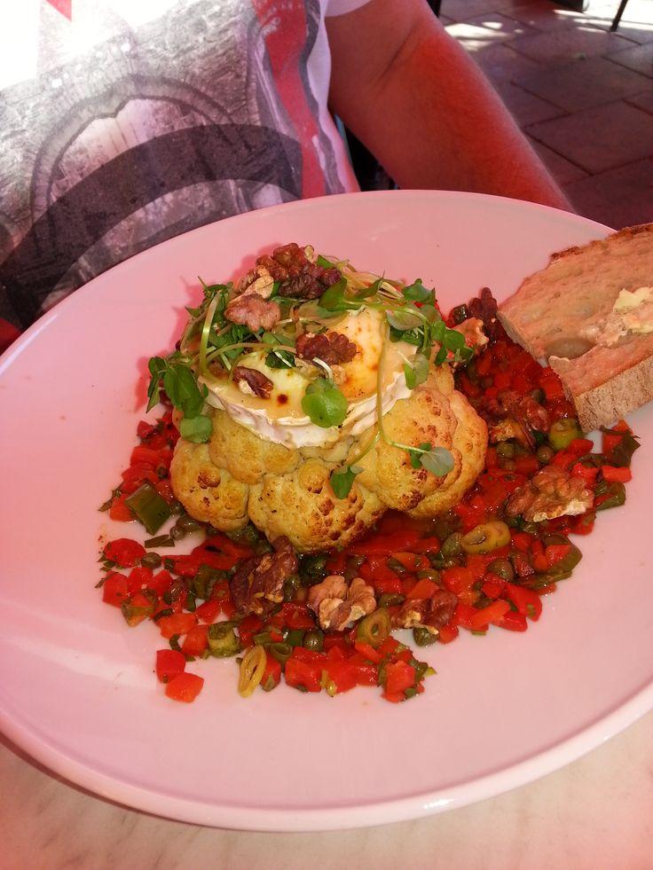 whole head cauliflower roasted | Vegan Meals | Pinterest