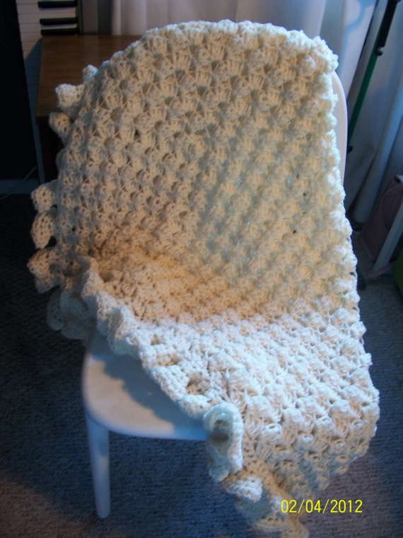 crocheted lap throw Crochet Pinterest