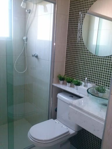 bancada p banheiro pequeno  Banheiro  Pinterest -> Bancada Para Banheiro Pequeno Em Granito