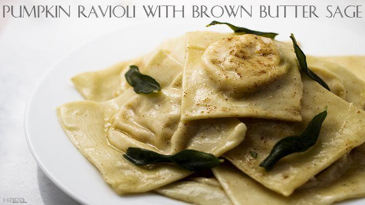 chestnut ravioli with sage browned butter ravioli with sage brown ...