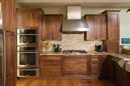 Kitchen Cabinet Doors Made From Pallets For The Home Pinterest