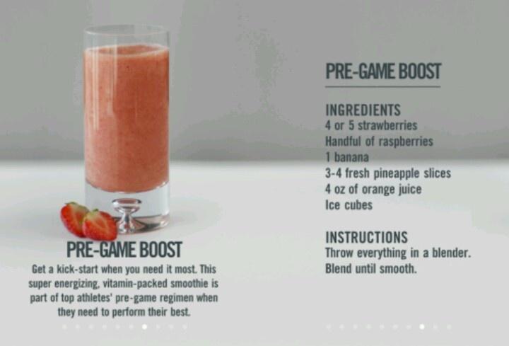 Vitamix pre workout smoothie recipes