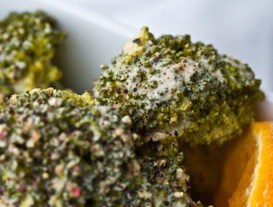 Lemon Pepper Tahini Broccoli Recipe