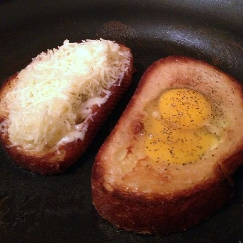 Egg in a Hole | mmmm | Pinterest