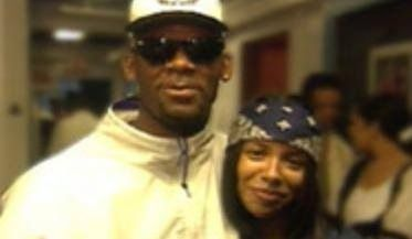 r kelly and aaliyah  Aaliyah and r.kelly in