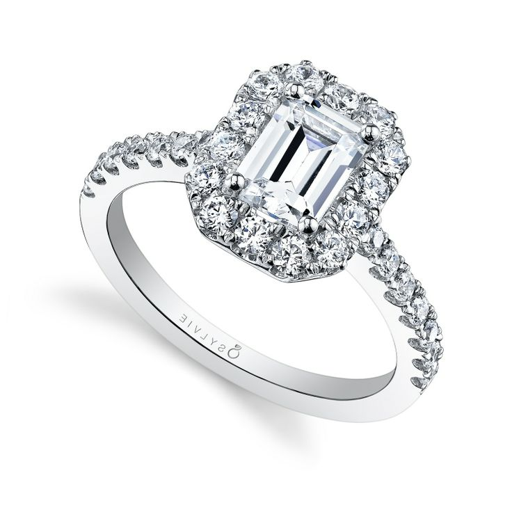 Emerald Cut Engagement Rings Halo Zales Wedding