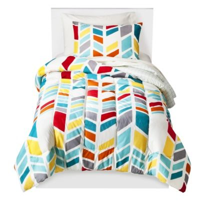 Room Essentials® Chevron Bed Set - Multi Chevron - Twin Extra Long.Opens in a new window