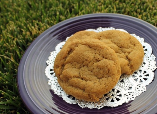 ... these soft and chewy cookies | Double Ginger Cookies | Culinary Hill