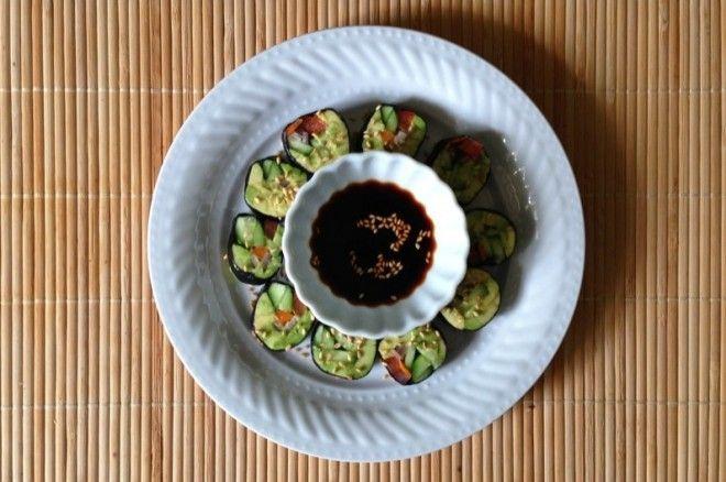 "veggie ""sushi"" rolls | Breaking Bread | Pinterest"