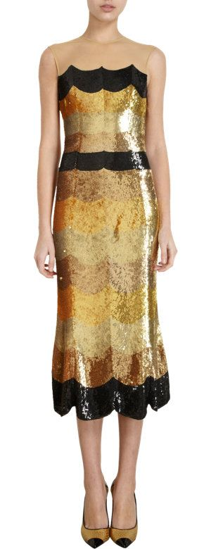 scallop striped & sequined   Black tie, dress up and beyond...   Pint ...